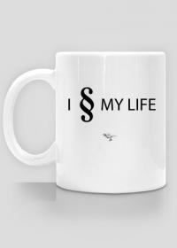 I § MY LIFE - Kubek biały