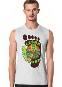 Leśna Stopa - Męska koszulka bez rękawów