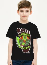Leśna Stopa - Dziecięca koszulka dla chłopca