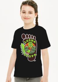 Leśna Stopa - Dziecięca koszulka dla dziewczynki