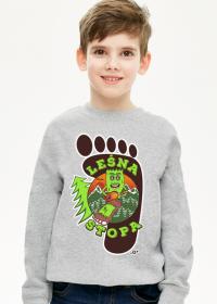 Leśna Stopa - Bluza dziecięca dla chłopca