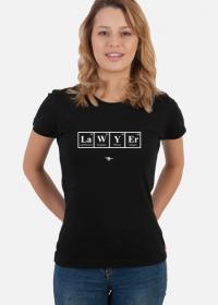 Pierwiastki Lawyer - T-shirt damski kolor