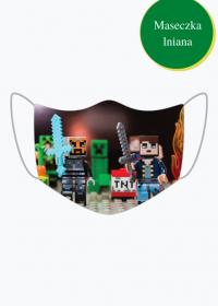 Minecraft - lniana maseczka