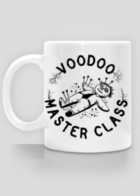 Voodoo Master Class - Kubek biały