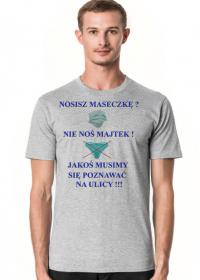 Nie noś majtek Koszulka męska