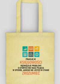 Księgowa - eko torba na prezent