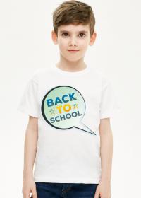 Back To School - koszulka dla chłopca - powrót do szkoły