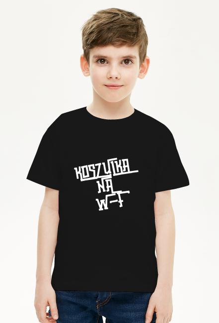 Koszulka na WF kolor czarny