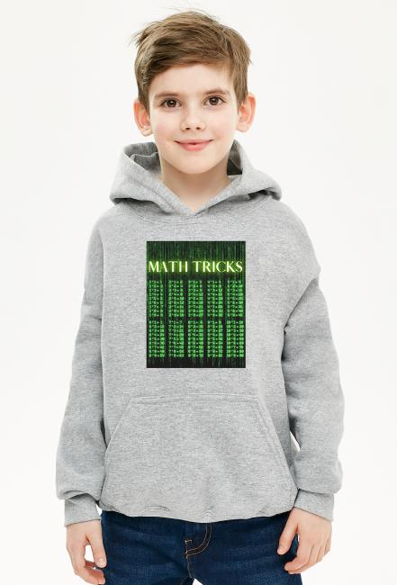 Bluza chłopięca z kapturem Math Tricks