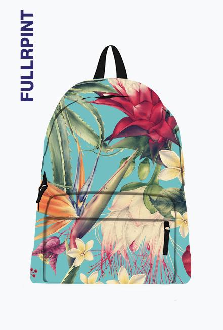 TROPICAL FLOWERS plecak