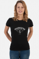 Ratujemy tyłki - koszulka damska z białym napisem