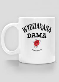 """Kubek""""Wydziarana Dama"""""""