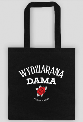 """Torba""""Wydziarana Dama"""""""