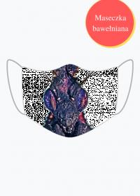 Maska z Modliszką Phyllocrania paradoxa