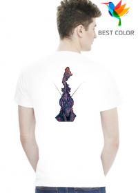 Biała koszulka z Phyllocrania paradoxa