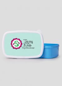 Pudełko śniadaniowe/ lunch box niebieski TAJNY KLUB SUPERDZIEWCZYN