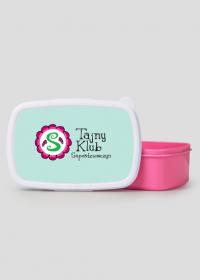 Pudełko śniadaniowe/ lunch box różowy TAJNY KLUB SUPERDZIEWCZYN