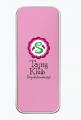 Piórnik szkolny metalowy różowy TAJNY KLUB SUPERDZIEWCZYN