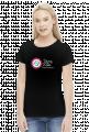 Koszulka damska czarna TAJNY KLUB SUPERDZIEWCZYN
