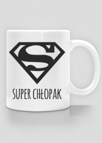 Dzień Chłopaka - kubek Super Chłopak - nadruk z dwóch stron