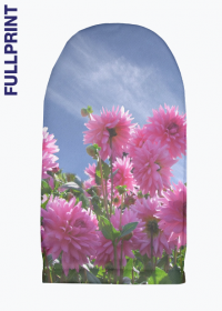Duża rekawica kuchenna FullPrint Kwiaty