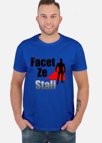 Koszulka męska Facet ze stali