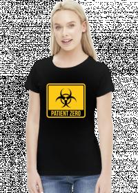 Pacjent zero koszulka damska