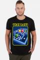 Koszulka Stay Safe - Pac-Man