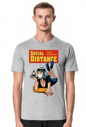 Koszulka Tentin Quarantino Social Distance