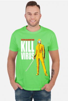 Koszulka Tentin Quarantino Kill Virus