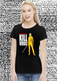 Tentin Quarantino Kill Virus koszulka damska