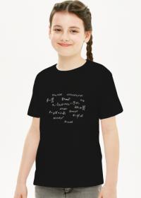 T-shirt z wzorami