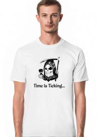 Koszulka męska time is ticking