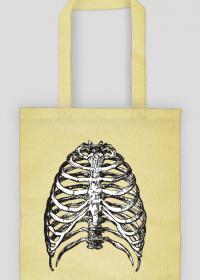 Żebra kości torba ekologiczna