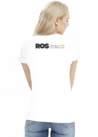 ROS Woman White Simple
