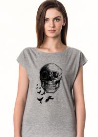 Koszulka damska Raven Skull