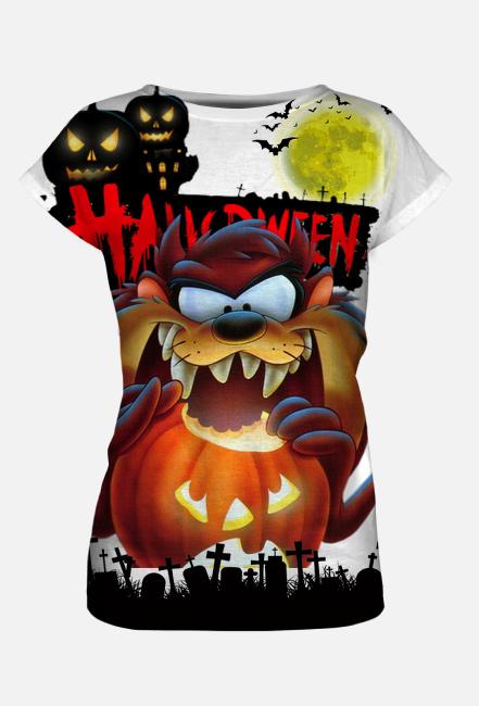 Koszulka damska FullPrint Happy Halloween 003