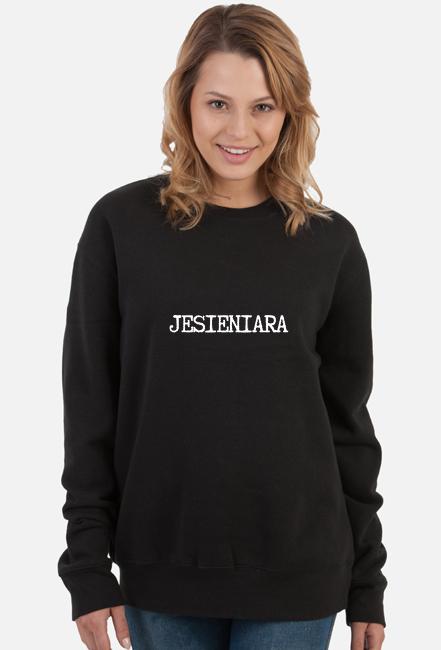 JESIENIARA bluza damska czarna