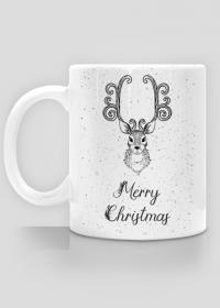 Merry Christmas - świąteczny kubek z nadrukiem
