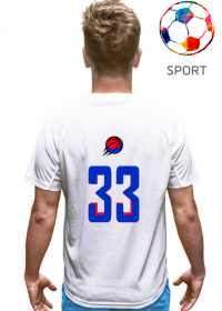 Basketball player RED_BLUE Unisex