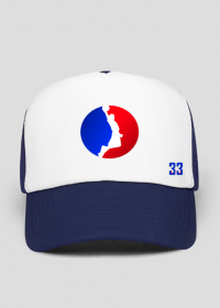 Basketball player RED_BLUE czapeczka