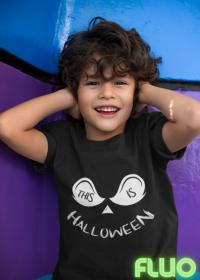 Koszulka Dziecięca Fluorestencyjna This is Halloween