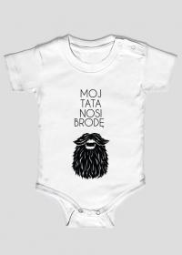 Body niemowlęce Mój Tata Nosi Brodę
