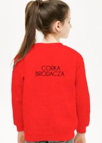 Bluza dziewczęca Mój Tata Nosi Brodę - Córka Brodacza