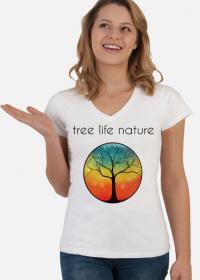 Koszulka tree life nature