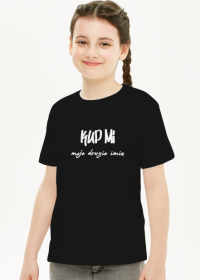 Koszulka Kup Mi czarna
