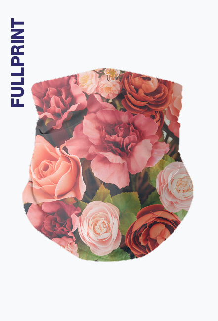 Komin na Twarz - Flowers