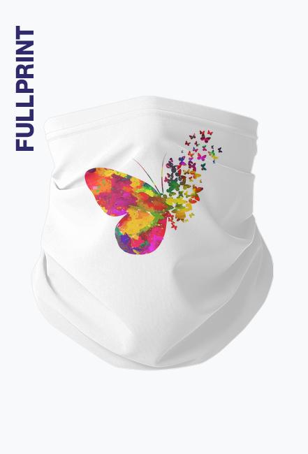 Komin na twarz - Motyl