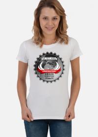 "Koszulka Damska ""Rowerowy Świat"""