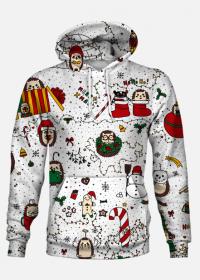 Bluza Świąteczne jeże